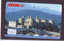 Télécarte Japon * ANGLETERRE * ENGLAND *  (453) GREAT BRITAIN RELATED * Phonecard Japan - Cultura
