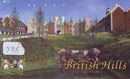 Télécarte Japon * ANGLETERRE * ENGLAND *  (455) GREAT BRITAIN RELATED * Phonecard Japan - Cultura