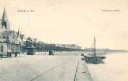 CÖLN - 1907 , Partie Am Rhein - Koeln