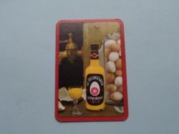Advokaat DE BEUKELAER ( Schoppen 1 ) ( Details - Zie Foto's Voor En Achter ) ! - Speelkaarten