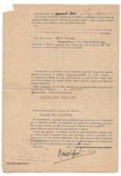 """WW2  ROUEN  1942  Contravention Pour """"lumière Non Camouflée"""" - Vieux Papiers"""
