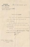 L.O. FROSSARD  Député De La Haute Saône  Ancien Ministre  Lettre 1937 - Autographes