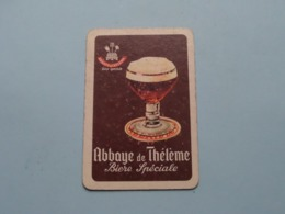 Abbaye De Thélème Bière Spéciale ( Ruiten 9 ) ( Details - Zie Foto's Voor En Achter ) ! - Speelkaarten