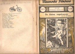Vlaamsche Filmkens 339 De Kleine Vogelroover H. De Backer 1937 GROOT FORMAAT: 16x23,5cm Averbode's Jeugbibliotheek - Anciens