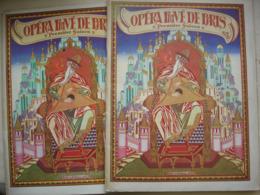 Deux Programmes De L' Opéra Privé De Paris.RUSSE Première Saison.datés 1929 Prince Igor De Borodine Et TSAR SALTAN - Programma's