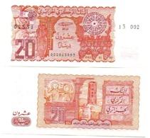 Algeria - 20 Dinars 1983 UNC Lemberg-Zp - Algerien
