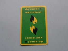 DE SMET & VAN DIEST ( JOKER ) Gele Kader ( Details - Zie Foto's Voor En Achter ) ! - Cartes à Jouer Classiques