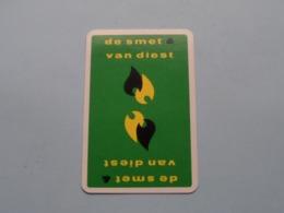 DE SMET & VAN DIEST ( JOKER ) Witte Kader ( Details - Zie Foto's Voor En Achter ) ! - Cartes à Jouer Classiques