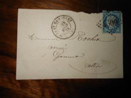Enveloppe GC 4509 Saint Remy En Rollat Allier - 1849-1876: Période Classique