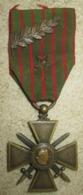 Croix De Guerre 1914-1916 Avec Palme Et étoile - 1914-18