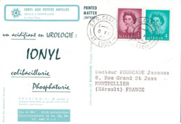 ST LUCIE - IONYL- CROISIERE IONYL AUX PETITES ANTILLES - 1966 - ESCALE A SAINTE LUCIE. - St.Lucie (1979-...)