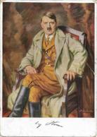 1936/45 - A.HITLER, Gute Zustand, 2 Scan - War 1939-45