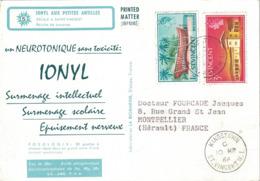 ST VINCENT - IONYL- CROISIERE IONYL AUX PETITES ANTILLES - 1966 - ESCALE A SAINT VINCENT. - St.Vincent (1979-...)