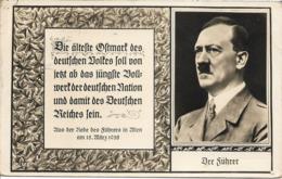 1939 - A.HITLER, Gute Zustand, 2 Scan - Guerre 1939-45