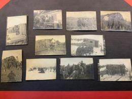 Lot De 10 Photos WW1 - Hiver 1917-1918 - 1914-18