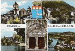 19 Beaulieu Sur Dordogne  Vues Multiples - Autres Communes