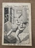 La Foudre Singulier CAS - Cromo