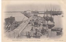 PHILIPPEVILLE - Le Port, Vue Prise De La Marine, Nicht Gelaufen Um 1900, Sehr Gute Erhaltung - Skikda (Philippeville)