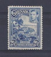 GRENADA.......KING GEORGE VI,(1936-52).....2 AND HALFd........SG157...........MH... - Granada (...-1974)