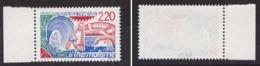 France Variété N°2556 2.20 En Rouge Signé Calves Neuf Luxe ** Année 1988 Cote 600€ - Variedades Y Curiosidades