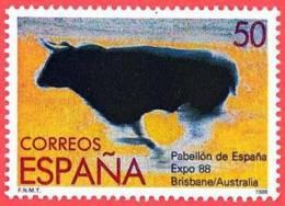 España. Spain. 1988. Exposicion Universal. Brisbane. Australia - 1981-90 Nuevos & Fijasellos