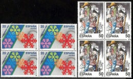 España. Spain. 1988. B4. Navidad. Christmas - 1981-90 Nuevos & Fijasellos