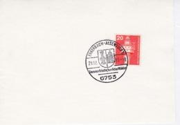 BRD Mi: 848 Leuchtturm. K Stempel. 6753 Enkenbach-Alsenborn. 29.12.1983 - Marcophilie - EMA (Empreintes Machines)