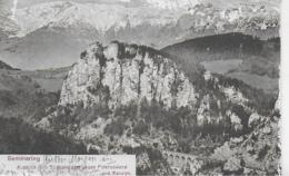 AK 0327  Semmering - Ausblick Vom Südbahnhotel Gegen Poleruswand Und Rax Um 1905 - Semmering