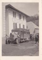 GAP: PHOTO ORIGINALE DE L'AUTOBUS GAP-BRIANCON Devant HOTEL DU COMMERCE - Cars