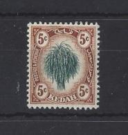 """MALAYA.."""" KEDAH """"......KING GEORGE V.(1910-36)..."""".....5c......SG4......MH. - Kedah"""