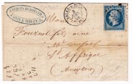 Arles Sur Tech 1858 Pyrénées Orientales Les Forges à La Catalane Jacques Dubois Sainte Affrique Aveyron - 1853-1860 Napoléon III