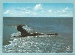 CPM N 3992 Côte Atlantique Nu Artistique Sur La Plage - Femme Nue - Ed Elcé - Pin-Ups