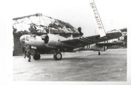 PHOTO AVION MARTIN 167  AVEC BANDES BLANCHES   12X8CM - 1939-1945: 2ème Guerre