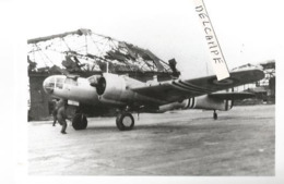 PHOTO AVION MARTIN 167  AVEC BANDES BLANCHES   12X8CM - 1939-1945: 2a Guerra