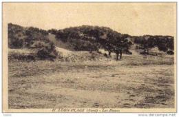 Carte Postale 59. Loon-Plage   Les Dunes Animée  Trés Beau Plan - Unclassified