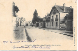 Rambouillet, Rue Nationale, Côté Gare, 1908 - Rambouillet