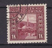 Bosnia And Herzegovina - 1906 Year - Michel 42 C - Zahnung 9 1/2  - Used - 30 Euro - Unused Stamps