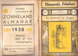 Vlaamsche Filmkens 349 Het Meesterwerk Van Vercignol 1937 GROOT FORMAAT: 16x23,5cm Averbode's Jeugbibliotheek - Oud