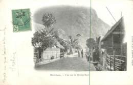 Laos - Une Rue De Muong-Ngoi 1909 - Laos
