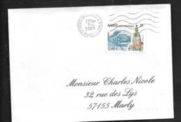 France :n°3552 Nantes (Loire Atlantique Avec Cachet Rond) - Postmark Collection (Covers)
