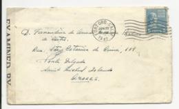 Cover - USA - Fortord - 1942 - Examined - Etats-Unis