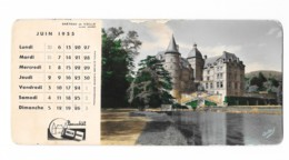 Photo Buvard - Chateau De Vizille (38) - Cliché André - Produits Pharmaceutiques