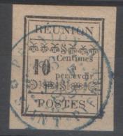 REUNION TAXES Yv 2 (o) - - Reunion Island (1852-1975)