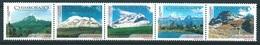 Ecuador (2002) Yv. 1647/51  /  Vulcan - Volcano - Geology - Volcan - Chimborazo - Mountains - Volcanos