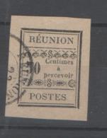 REUNION TAXES Yv 3 (o) - - Reunion Island (1852-1975)