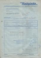 Bielefeld Brackwede - Rechnung Motorfahrzeughandelsgesellschaft M.b.H. Mobylette - Verkehr & Transport