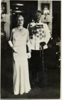 Malay Malaysia, JOHOR JOHORE, Sultan Ibrahim & Helen Bartholomew (1930s) RPPC (2 - Malaysia