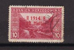 Bosnia And Herzegovina - 1914 Year - Michel 90 Type III - Used - 40 Euro - 1850-1918 Empire
