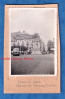 Photo Ancienne Snapshot - CLERMONT FERRAND - Place De Jaude - Autobus / Autocar - Statue De Vercingétorix - Automobile