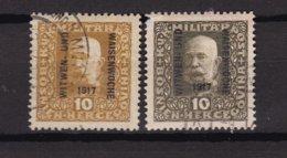 Bosnia And Herzegovina - 1917 Year - Michel 119 A+b - Used - 1850-1918 Empire